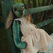 Куклы и игрушки ручной работы. Ярмарка Мастеров - ручная работа зайка Seladon. Handmade.