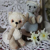 Куклы и игрушки ручной работы. Ярмарка Мастеров - ручная работа Весенние Ангелы. Мишки мини.. Handmade.