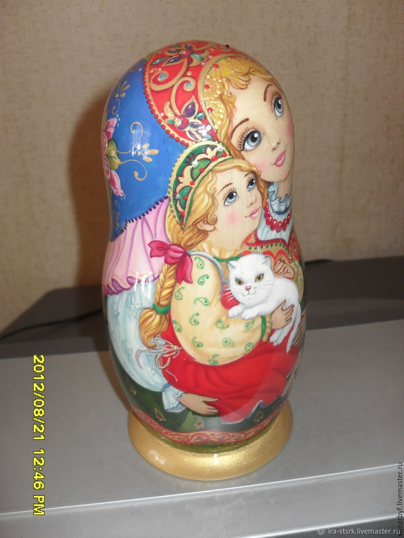 Matryoshka with her daughter, Dolls1, Vitebsk,  Фото №1