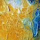Абстракция ручной работы. Абстрактная живопись. Venus. Анна. Интернет-магазин Ярмарка Мастеров. Золото, синий, венера, акрил