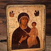 Картины и панно handmade. Livemaster - original item Dionisy`s Icon. The Virgin Hodegetria (A Guide To). Handmade.