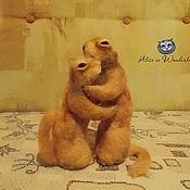 """Куклы и игрушки ручной работы. Ярмарка Мастеров - ручная работа """"Суслики"""". Handmade."""