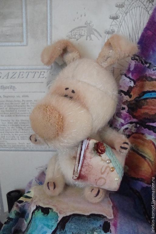 Мишки Тедди ручной работы. Ярмарка Мастеров - ручная работа. Купить Заюшка-Катюшка друзья мишки Тедди. Handmade. Бежевый