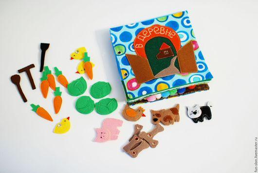 Развивающие игрушки ручной работы. Ярмарка Мастеров - ручная работа. Купить Развивающая книжка из фетра Учим счет. Handmade.
