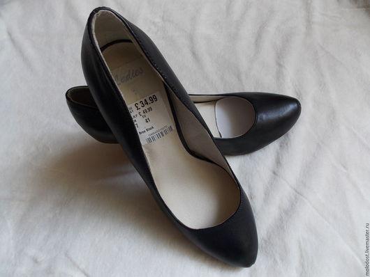 Винтажная обувь. Ярмарка Мастеров - ручная работа. Купить Туфли. Натуральная кожа. НОВЫЕ. Р-ры 36, 40. Handmade.
