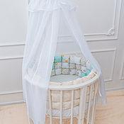 Бортики в кроватку ручной работы. Ярмарка Мастеров - ручная работа Бомбон бортики в кроватку. Handmade.