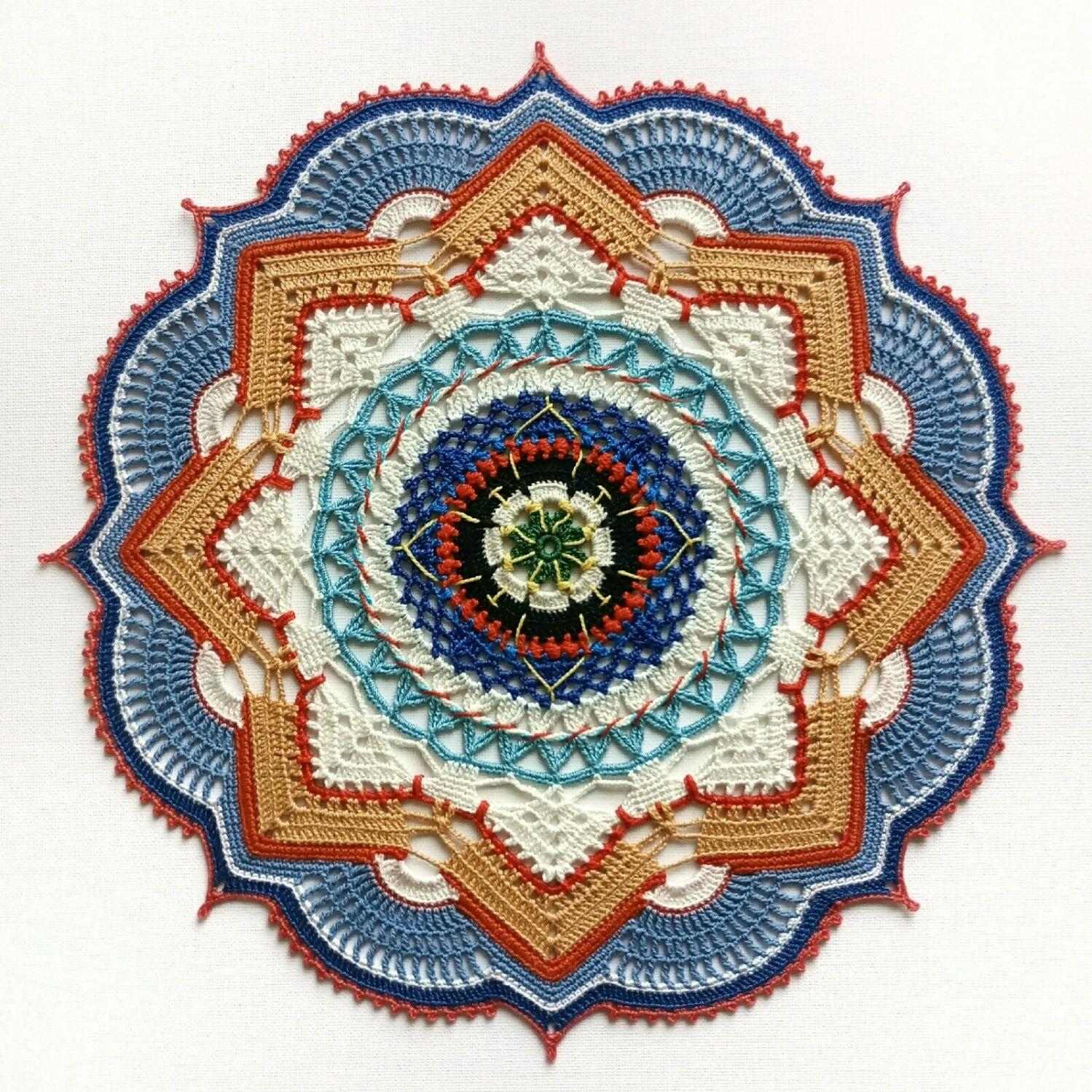 Crochet napkin ' Fair', Doilies, St. Petersburg,  Фото №1