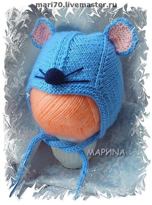 Шапки и шарфы ручной работы. Ярмарка Мастеров - ручная работа. Купить ШАПКА мышка. Handmade. Шапка, детская шапка, мышка