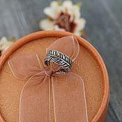 Украшения ручной работы. Ярмарка Мастеров - ручная работа Кольцо в виде пера. Handmade.