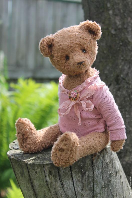 Мишки Тедди ручной работы. Ярмарка Мастеров - ручная работа. Купить Marve. Handmade. Коричневый, вискоза