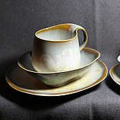 Посуда ручной работы. Ярмарка Мастеров - ручная работа Чайные пары из фарфора. Handmade.