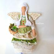Куклы и игрушки ручной работы. Ярмарка Мастеров - ручная работа Фея Лавруша Липочкина в стиле Тильда. Handmade.