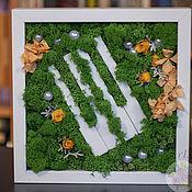 """Композиции ручной работы. Ярмарка Мастеров - ручная работа Панно"""" Жизнь  нотам"""". Handmade."""