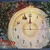 Картины и панно handmade. Livemaster - original item Painting watercolour 5 MINUTES BEFORE the NEW YEAR. Handmade.