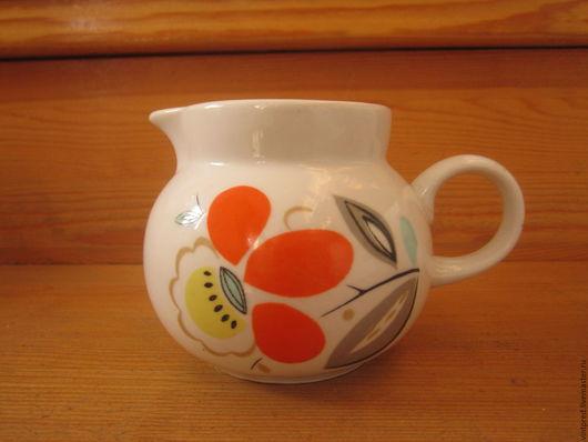 Винтажная посуда. Ярмарка Мастеров - ручная работа. Купить Молочник  фарфоровый. Хайта.. Handmade. Комбинированный, фарфор ссср