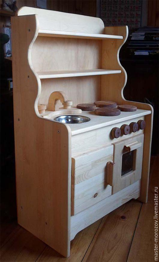 Развивающие игрушки ручной работы. Ярмарка Мастеров - ручная работа. Купить Кухня детская. Handmade. Кухня детская, кукольная кухня