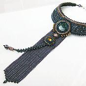 Украшения ручной работы. Ярмарка Мастеров - ручная работа Колье-галстук. Handmade.