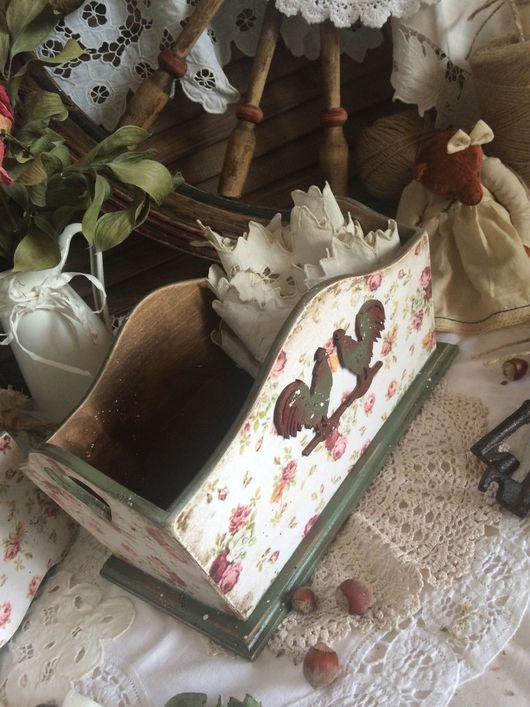 """Корзины, коробы ручной работы. Ярмарка Мастеров - ручная работа. Купить Набор для кухни """" Деревенька моя"""". Handmade."""