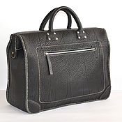 Сумки и аксессуары handmade. Livemaster - original item Leather carpetbag (trunk) handmade. Luxemburg. Handmade.