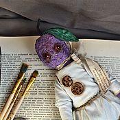 Куклы и игрушки handmade. Livemaster - original item Teddy Plum Plum. Handmade.