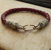 Украшения handmade. Livemaster - original item Odin`s ravens Bracelet. Handmade.