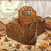 """Для дома и интерьера ручной работы. Ярмарка Мастеров - ручная работа Короб для специй""""Сuisine"""". Handmade."""