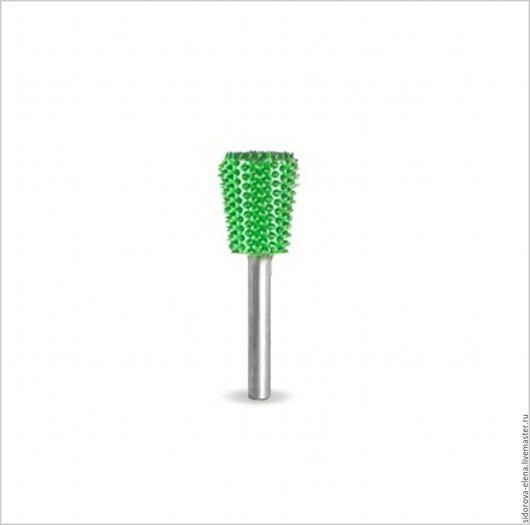 Другие виды рукоделия ручной работы. Ярмарка Мастеров - ручная работа. Купить Сабурр обратный конус зеленый. Handmade. Зеленый