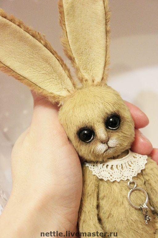 Мишки Тедди ручной работы. Ярмарка Мастеров - ручная работа. Купить Храбрый заяц. Handmade. Заяц, синтепон