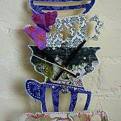 Часы ручной работы. Ярмарка Мастеров - ручная работа Часы кухонные -Чаепитие-декупаж. Handmade.