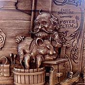 Для дома и интерьера handmade. Livemaster - original item Wooden panel Dwarf.. Handmade.