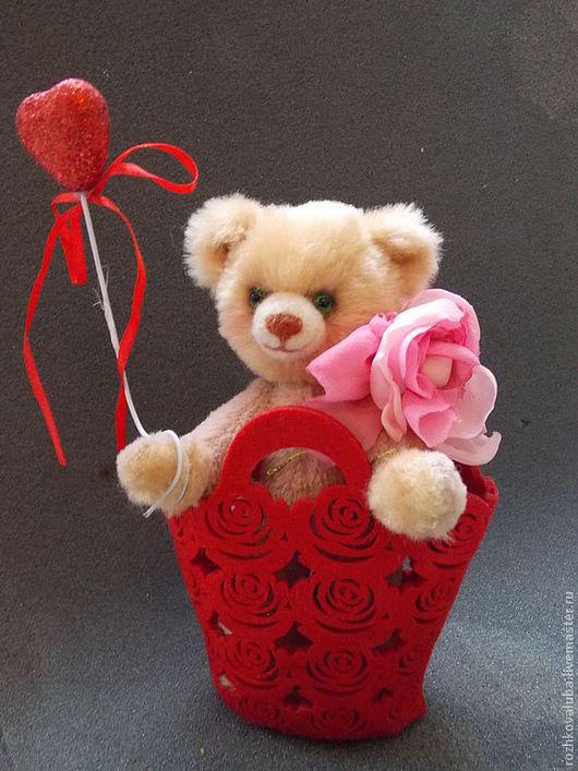 Мишки Тедди ручной работы. Ярмарка Мастеров - ручная работа. Купить цветочек. Handmade. Мишка, мишка ручной работы