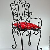 """Для дома и интерьера ручной работы. Ярмарка Мастеров - ручная работа Кованый стул """"Фаворит""""  (Кованая мебель). Handmade."""
