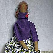 """Куклы и игрушки ручной работы. Ярмарка Мастеров - ручная работа Тильда  """"Скандинавская красавица"""". Handmade."""