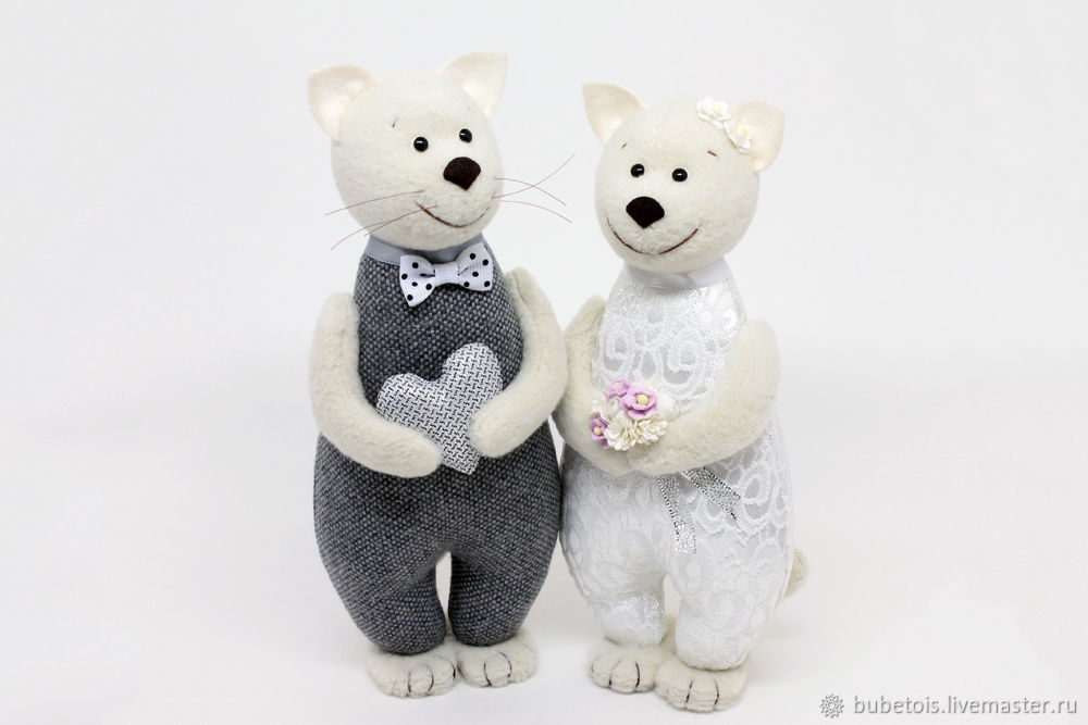 Подарок на серебряную свадьбу - игрушка счастливые котики, Подарки, Москва, Фото №1
