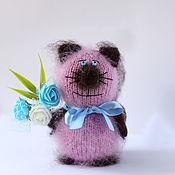 Stuffed Toys handmade. Livemaster - original item Cat cat toy knitted handmade cats gift. Handmade.