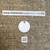 Материалы для творчества handmade. Livemaster - original item Enamel opaque Porcelain White No.10 Dulevo. Handmade.