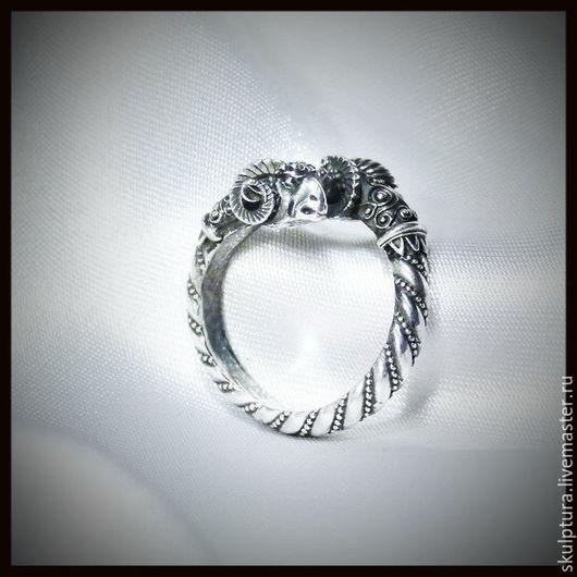 """Кольца ручной работы. Ярмарка Мастеров - ручная работа. Купить Кольцо """"Золотое руно"""" серебро 925. Handmade. Кольцо"""