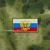 Русский стиль handmade. Livemaster - original item Badge