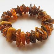 Украшения handmade. Livemaster - original item Amber bracelet genuine Baltic amber stone. Handmade.