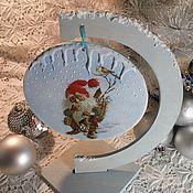 """Подарки к праздникам ручной работы. Ярмарка Мастеров - ручная работа """"Winter`s tale"""" интерьерная подвеска. Handmade."""