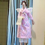Куклы и игрушки handmade. Livemaster - original item Doll Tilda: Bath angel. Handmade.