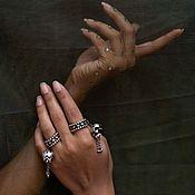 Украшения handmade. Livemaster - original item Ring Lotus 925 silver. Handmade.