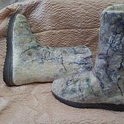 Обувь ручной работы. Ярмарка Мастеров - ручная работа Валенки. Заснеженные.. Handmade.