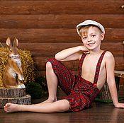 Одежда ручной работы. Ярмарка Мастеров - ручная работа Бриджи на мальчика. Handmade.