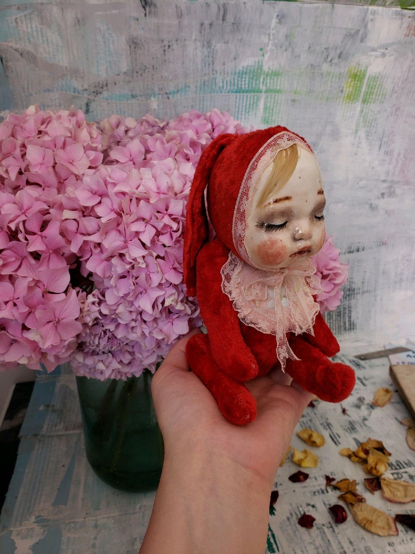 teddydoll Зая,итерьерная кукла в винтажном стиле, Тедди Долл, Сочи,  Фото №1