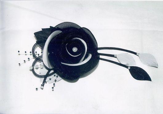 Броши ручной работы. Ярмарка Мастеров - ручная работа. Купить Розы из органзы. Handmade. Роза-брошь, оригинальное украшение, органза