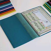 Канцелярские товары handmade. Livemaster - original item A4 document organizer new jeans. Handmade.