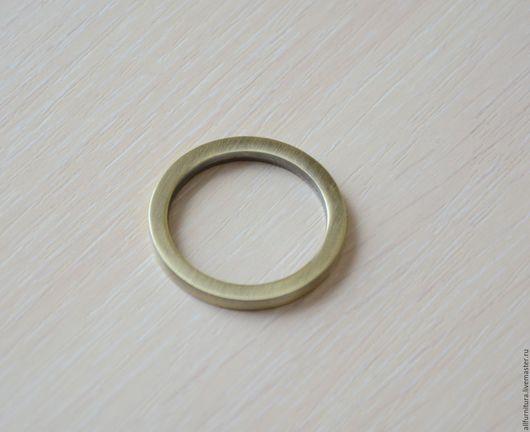 Шитье ручной работы. Ярмарка Мастеров - ручная работа. Купить Кольцо литое О 046 антик 30 мм. Handmade.