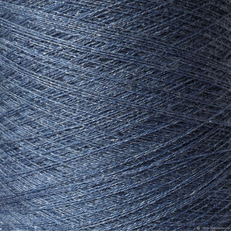 Пряжа Кашемир люрекс джинс – купить на Ярмарке Мастеров – M9O9CRU | Пряжа, Санкт-Петербург
