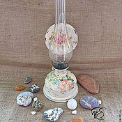 Для дома и интерьера handmade. Livemaster - original item A kerosene lamp At the cottage, the stove,lamp,decoupage.. Handmade.